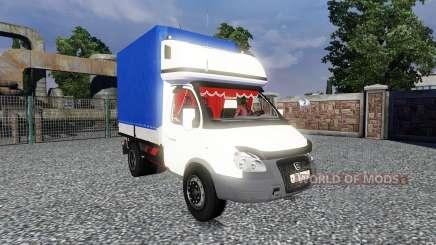 GAZ-3302 Gacela para Euro Truck Simulator 2