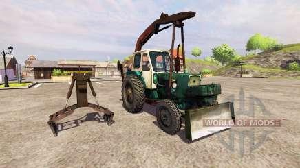 YUMZ-6L agarrar el cargador para Farming Simulator 2013