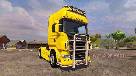 Scania R560 yellow para Farming Simulator 2013
