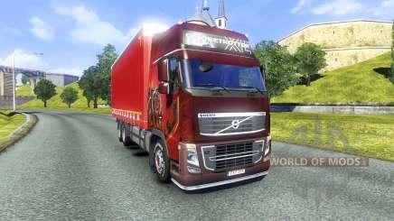 Volvo FH16 2012 BDF para Euro Truck Simulator 2