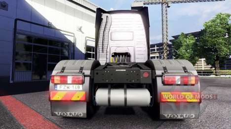 Nuevas luces y colgajos de barro en Volvo para Euro Truck Simulator 2