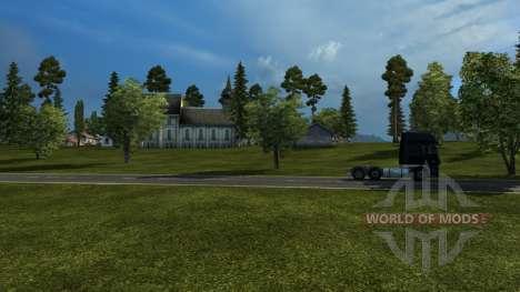 Mapa de Rusia - rusia espacio para Euro Truck Simulator 2