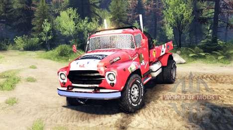 ZIL-130 4x4 de autocross [13.04.15] para Spin Tires
