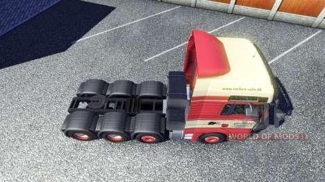 La piel Torben rafn en el camión MAN para Euro Truck Simulator 2