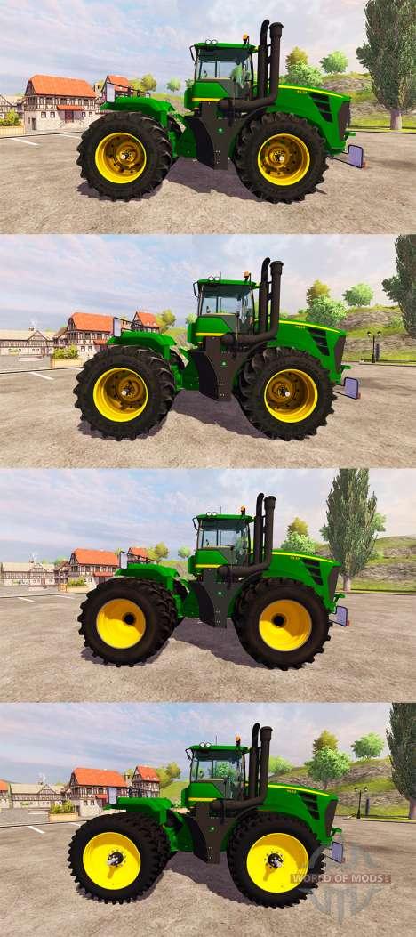 John Deere 9630 v2.0 [pack] para Farming Simulator 2013