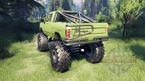 Dodge D200 green para Spin Tires
