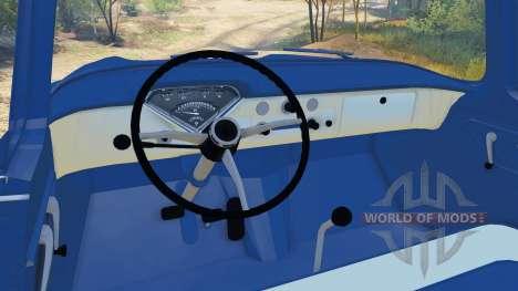 Chevrolet Apache 1959 Fleetside v1.1 para Spin Tires