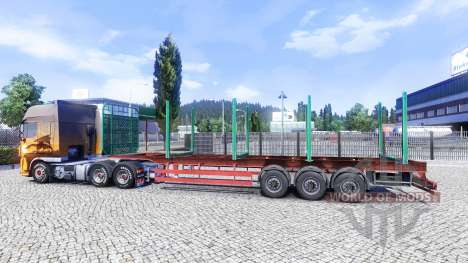 Un vacío semi-remolque para Euro Truck Simulator 2