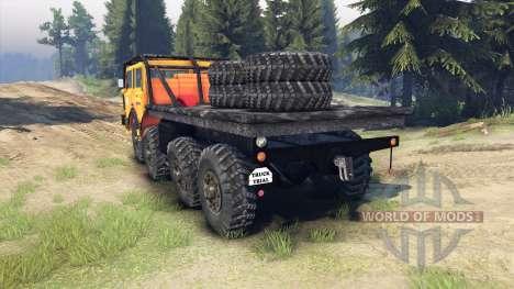 Tatra 813 KOLOS 8x8 para Spin Tires