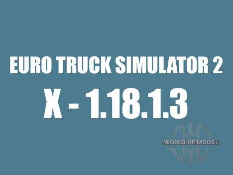 Parche 1.8.1.3 para Euro Truck Simulator 2