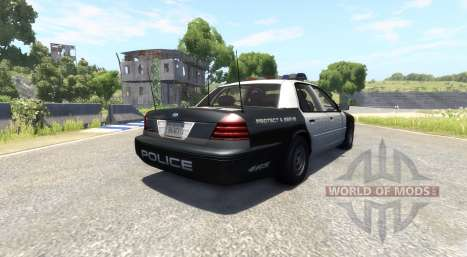 Ford Crown Victoria 1999 v2.0 para BeamNG Drive