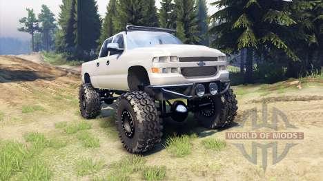 Chevrolet Silverado 2500 Duramax v1.1 para Spin Tires