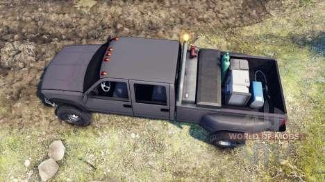 GMC Suburban 1995 Crew Cab Dually gray para Spin Tires