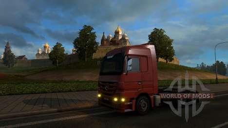 Mapa De Rusia - RusMap para Euro Truck Simulator 2
