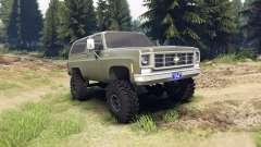 Chevrolet K5 Blazer 1975 army green