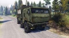 KAMAZ Tifón camión 6x6