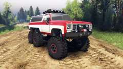 Chevrolet K5 Blazer 1975 Equipped red and white
