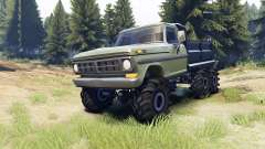 Ford F-100 6x6 v2.0