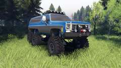 Chevrolet K5 Blazer 1975 Equipped blue and black