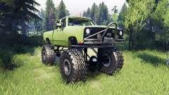 Dodge D200 green