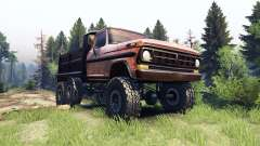 Ford F-100 6x6 v1.1 rusty
