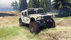 Hummer H1 army tan