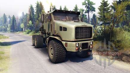 Oshkosh M1070 HET para Spin Tires