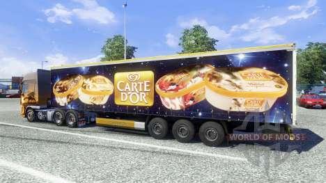 Semi-Carte Dor para Euro Truck Simulator 2