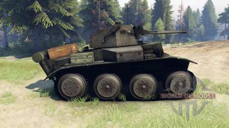 Mark VII Tetrarch (A17) para Spin Tires