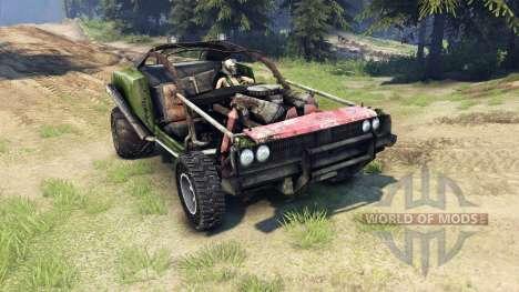 Dodge HL2 green para Spin Tires