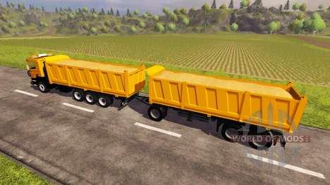 Scania P380 v2.0 para Farming Simulator 2013