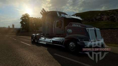 Optimus Prime de transformers 4 para Euro Truck Simulator 2