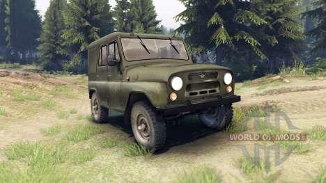 UAZ-31512 para Spin Tires