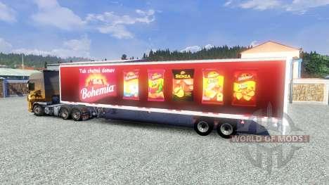 Semi-Bohemia para Euro Truck Simulator 2