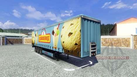 Semi Ijsboerke para Euro Truck Simulator 2