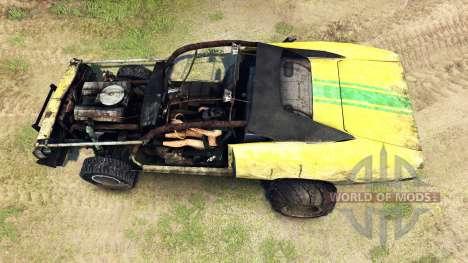Dodge HL2 stock para Spin Tires