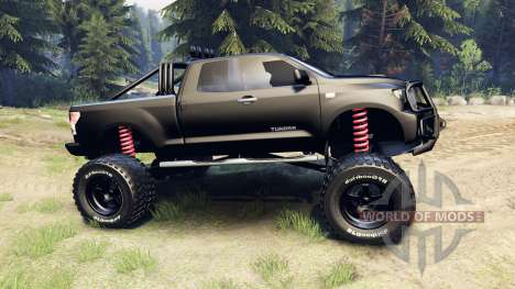 Toyota Tundra off-road para Spin Tires