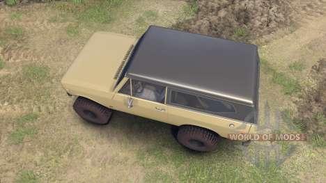 International Scout II 1977 elk para Spin Tires