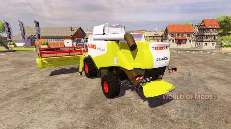 CLAAS Lexion 550 para Farming Simulator 2013