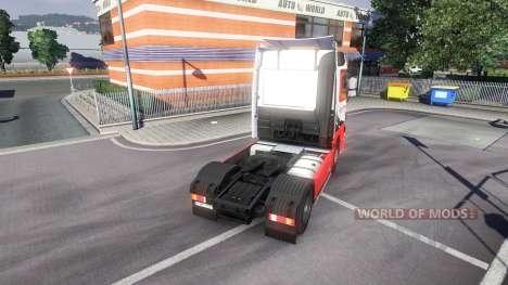Mercedes-Benz Actros EuroTrans para Euro Truck Simulator 2