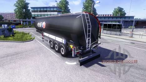 Remolques ELF para Euro Truck Simulator 2