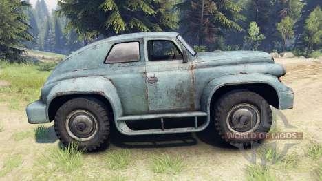GAZ-M-20 Victoria personalizado para Spin Tires
