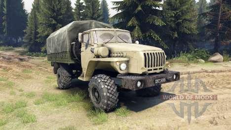 Ural-43206 es un 4x4 para Spin Tires