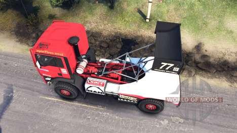 MAN TGA Dakar para Spin Tires