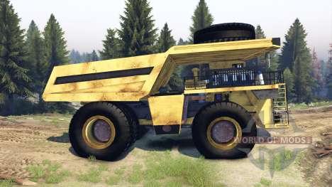 Dump truck Godzilla para Spin Tires