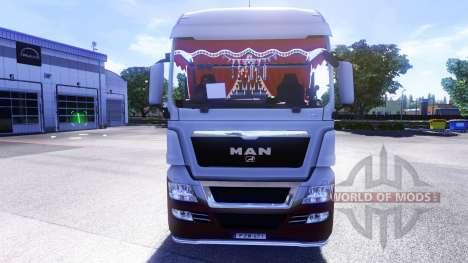 Interior de la nueva tractores HOMBRE para Euro Truck Simulator 2