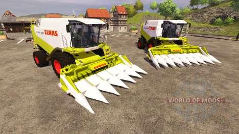 Жатки CLAAS Conspeed 6 и CLAAS Conspeed 8 para Farming Simulator 2013