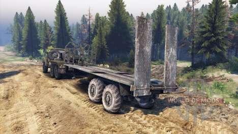 Ural-380 C. para Spin Tires