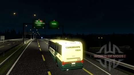 De transporte de pasajeros para Euro Truck Simulator 2