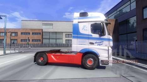 Mercedes-Benz Actros MPIV para Euro Truck Simulator 2